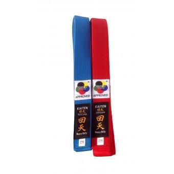 Kaiten rood/blauw WKF